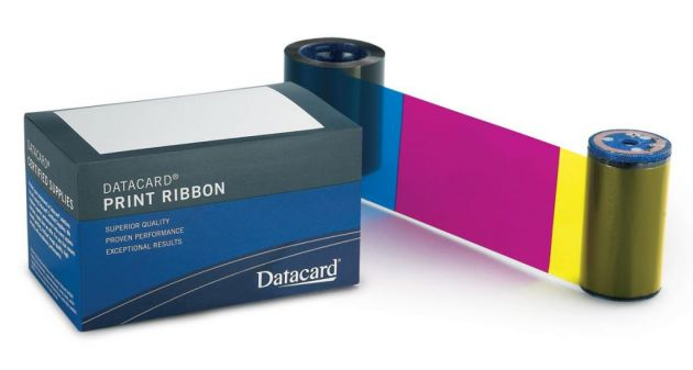 Ribbon Datacard 534000-006 substitui 552854-506 YMCKT-KT colorido - SP55, SP75 Plus